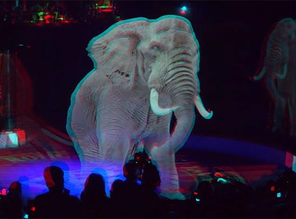 В немецком цирке Ронкалли вместо животных выступают голограммы