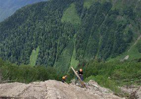 В Кавказском заповеднике открыли прямой путь на Бзерпинский карниз
