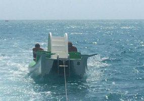 На Кубани в море унесло катамараны с десятью отдыхающими