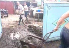 В станице Отрадненского района из-за дождя ввели режим ЧС