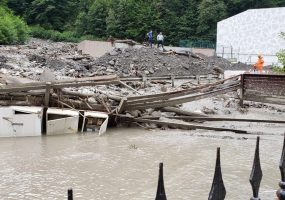 Масса сошедшего селя в Сочи составила около 4 тыс. куб. метров