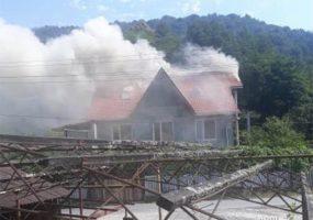 В Сочи произошел пожар в частном доме