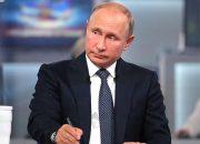 Россияне прислали больше миллиона вопросов на прямую линию с президентом РФ