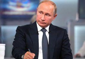 Названы основные темы прямой линии с Владимиром Путиным
