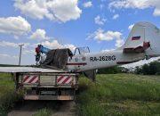 На Кубани совершил жесткую посадку частный легкомоторный самолет. Фото