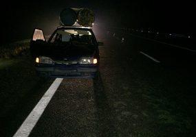 В Тимашевском районе водитель ВАЗа на трассе сбил пешехода