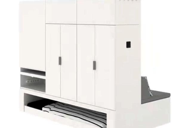 IKEA представила шкаф-робот, позволяющий экономить жилую площадь