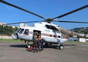 В лесу Сочи по дыму от костра нашли двух потерявшихся туристов
