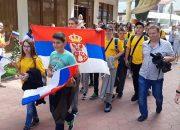 Сербским школьникам за отличную учебу подарили путевки в Сочи