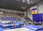 В Краснодаре стартовал турнир по прыжкам на батуте