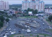 На Старокубанском кольце в Краснодаре пробки стали меньше на 2-3 балла