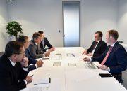 Вениамин Кондратьев провел деловую встречу с гендиректором АО «Дом.РФ»