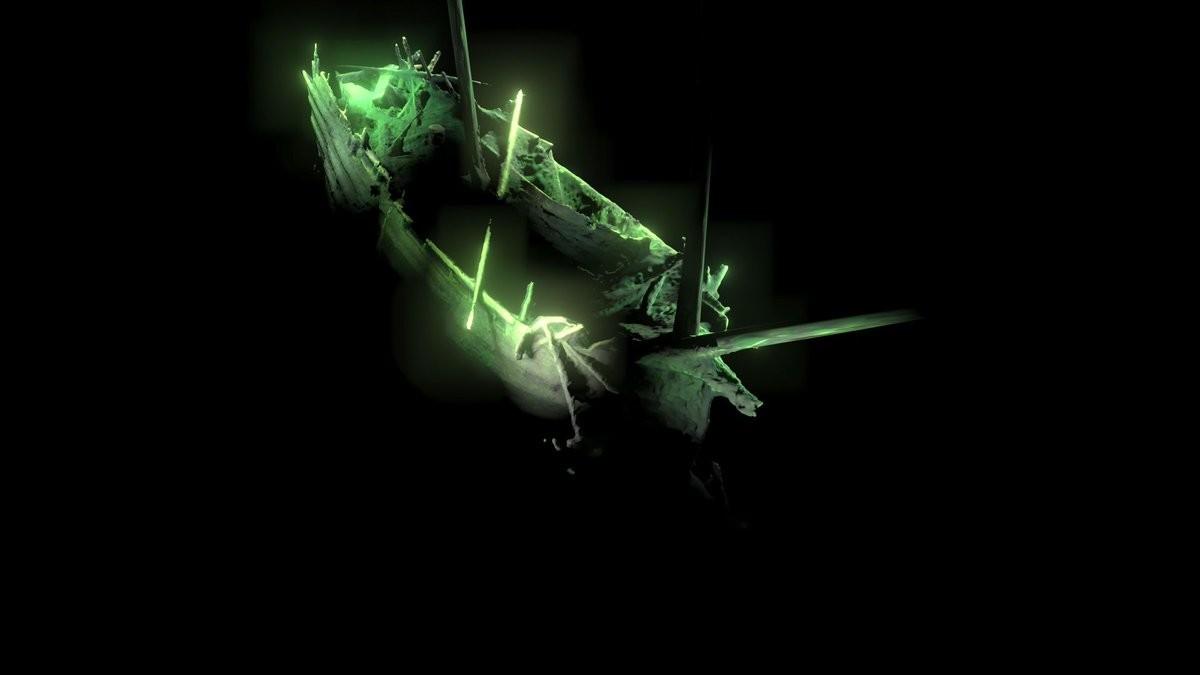 таинственный корабль