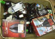 В Сочи на таможне задержали контрабандиста, «запасшегося» 57 литрами алкоголя