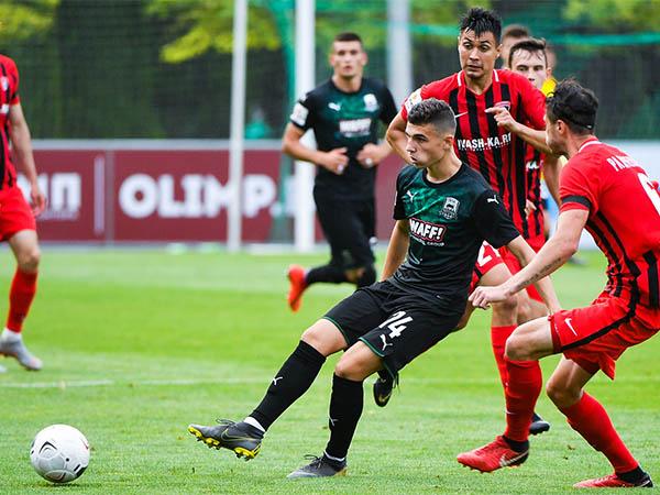 Как ФК «Краснодар-2» сыграл с «Текстильщиком»