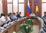 Вениамин Кондратьев провел совещание по реализации нацпроектов на Кубани