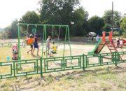 В Кропоткине открыли спортивно-игровой комплекс