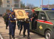 В Краснодар доставят икону «Спас Нерукотворный»
