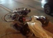 В Сочи велосипедист погиб под колесами машины