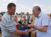 Хлеборобы Кореновского района получили медали за жатву