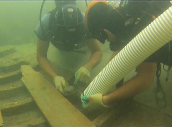 Французы изучат бирему античной эпохи, найденную на дне Таманского залива