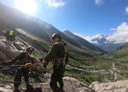 Участники «Эльбрусского кольца» преодолели скальный этап конкурсного маршрута