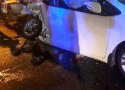 В Краснодаре виновник ДТП с пятью автомобилями скрылся с места