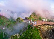 В Сочи открылась панорамная площадка с видом на Кавказские горы
