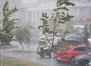 В Краснодарском крае прогнозируют понижение температуры, дожди и град