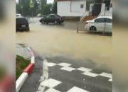 Дождь 18 июля затопил улицы Сочи