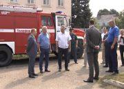 В Динском районе прошли контрольные мероприятия по пожарной безопасности