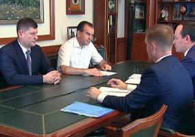 Вениамину Кондратьеву представили нового гендиректора «Кубаньэнерго»