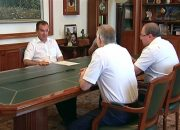 Вениамин Кондратьев провел рабочую встречу с и.о. главного врача ККБ № 2