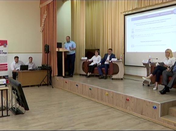 Рабочий день Анны Миньковой прошел в Тимашевском районе