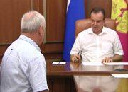 Вениамин Кондратьев провел прием граждан