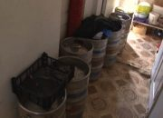 В Анапе с начала лета изъяли около 6 тонн нелегального алкоголя