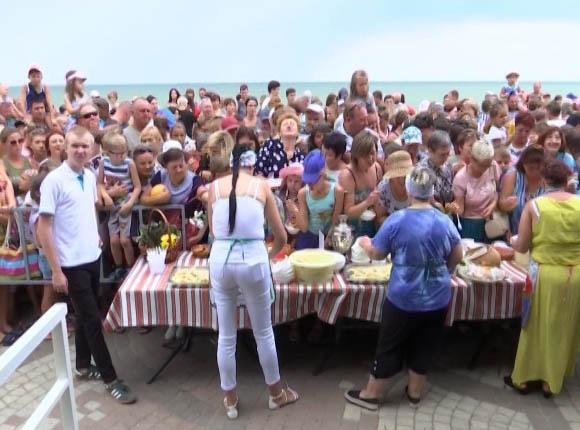 На Кубани прошел фестиваль «Ейский вареник»