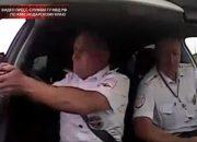В Геленджике во время погони со стрельбой преступник выезжал на встречную полосу