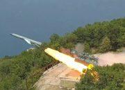 Минобороны показало ракетные стрельбы «Утеса» и «Адмирала» в Черном море