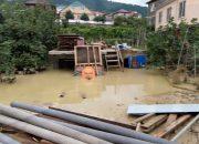 Опубликовано видео ликвидации последствий стихии в сочинском поселке Барановке