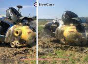 Под Краснодаром вертолет совершил жесткую посадку, пилота госпитализировали