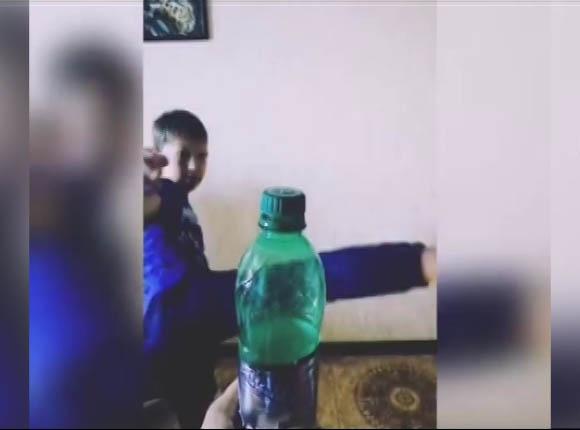 Жители Краснодарского края приняли участие в Bottle Cap Challenge