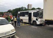 В Краснодаре в ДТП попала маршрутка, девять человек доставили в больницу