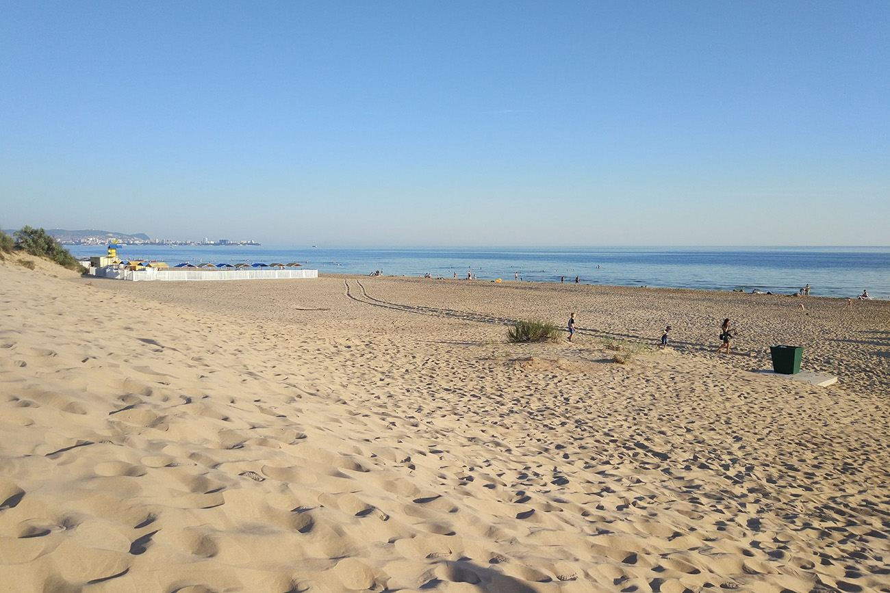 Городской пляж «Фея», поселок Джемете