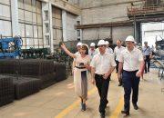Кондратьев посетил строительный комбинат «Гулькевичский»