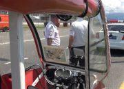 В Сочи арестовали водителя, который без прав перевозил туристов на электрокаре