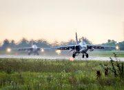 На Кубани во время учений штурмовики Су-25СМ3 уничтожили аэродром противника