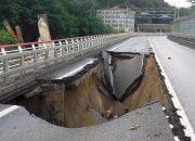 Причиной разрушения части трассы в Сочи стал оползень