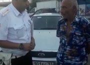 В Туапсе водитель гнал по встречке за машиной скорой помощи