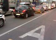 В Краснодаре выезжающих на выделенные полосы водителей будут штрафовать